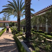'Photo of The Getty Villa - Pacific Palisades, CA, United States. Exterior Courtyard' from the web at 'https://s3-media3.fl.yelpcdn.com/bphoto/t8V94vVBo9qleDF1uMn50Q/168s.jpg'