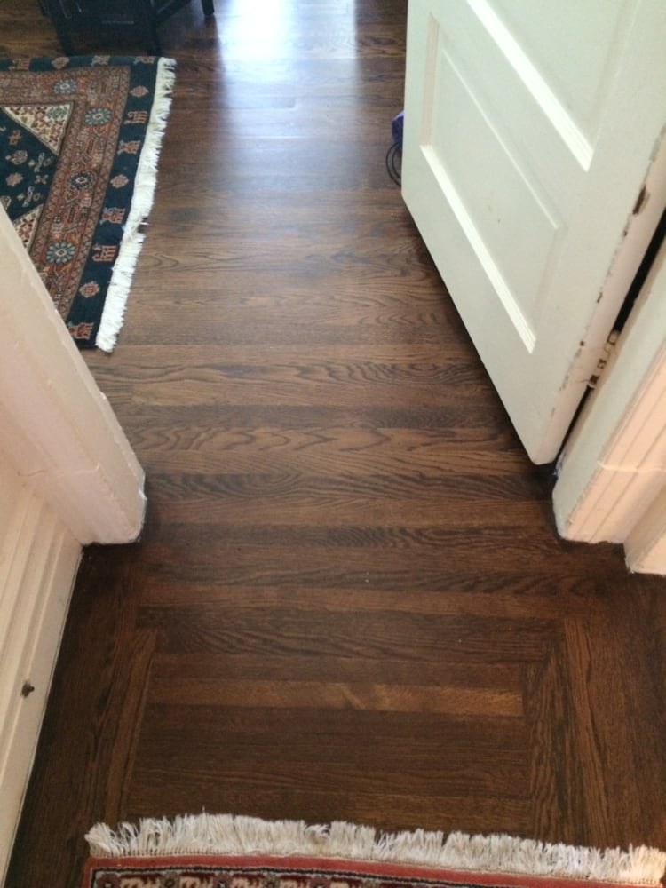 Foyer Tile To Wood Transition : New transition from hallway to bedroom is all