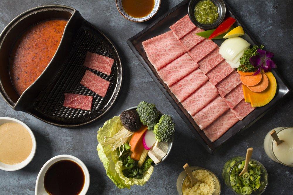 Halves Boiling Pot + Grill  | Shabu • Yakiniku