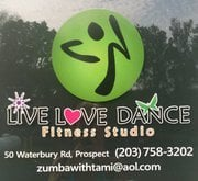 Live Love Dance Fitness Studio: 50 Waterbury Rd, Prospect, CT