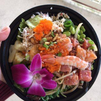 Star poke 134 photos 74 reviews poke 19926 aurora for Fish me poke menu