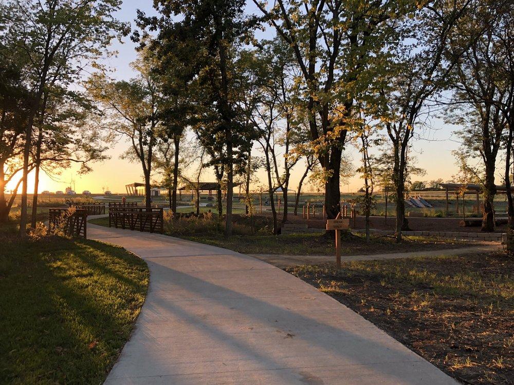 Big Bull Creek Park: 20425 Sunflower Rd, Edgerton, KS