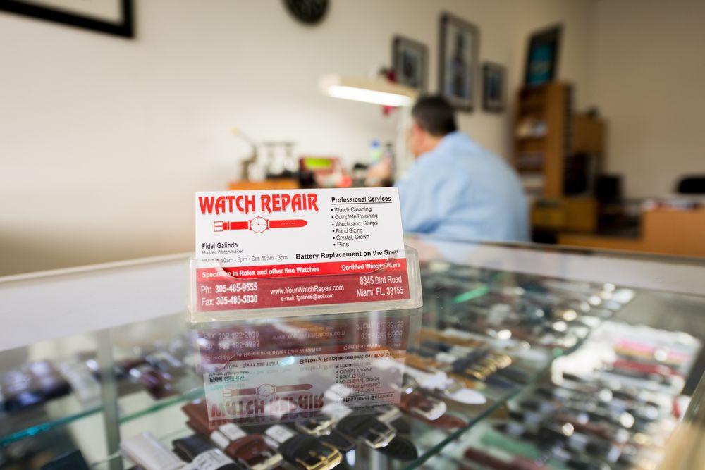 Watch Repair: 8345 Bird Rd, Miami, FL