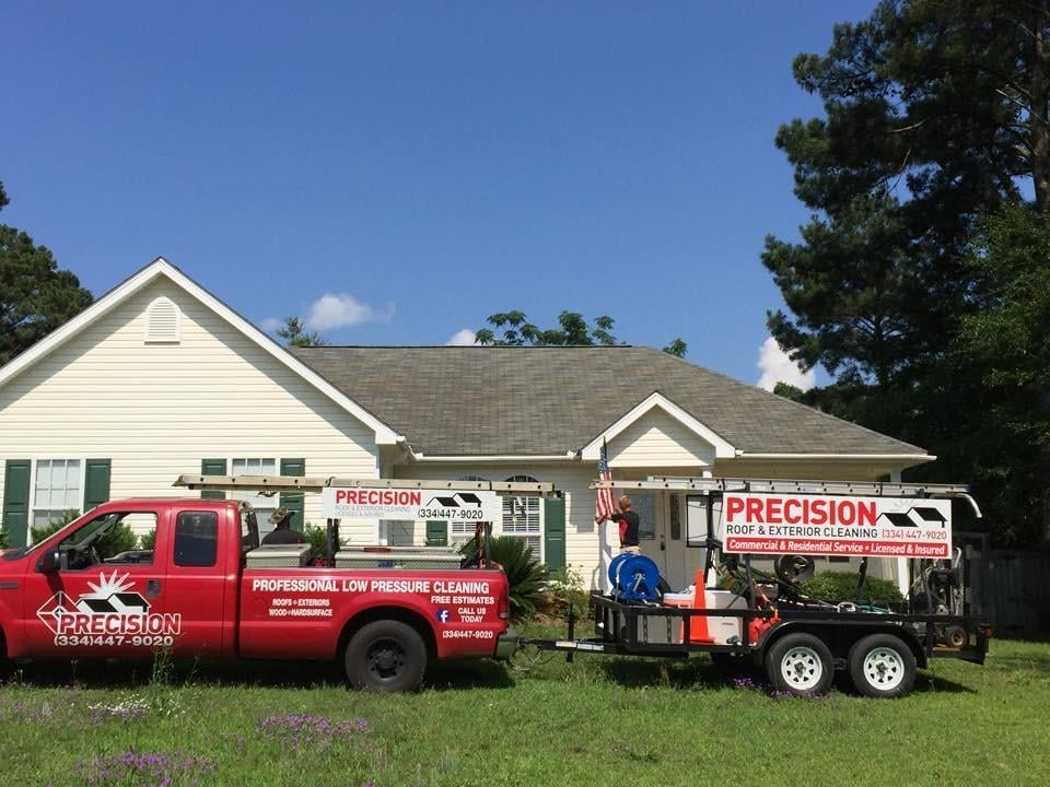 Precision Roof and Exterior Cleaning: 107 Deerfield Dr, Enterprise, AL