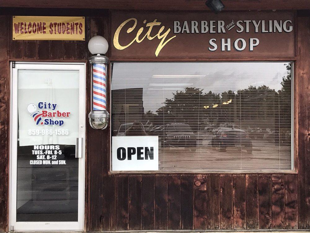 City Barber Shop: 292 Glades Rd, Berea, KY