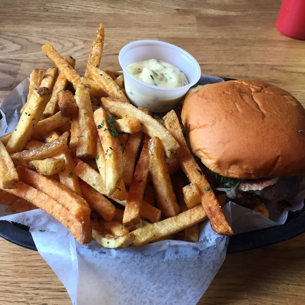 Food from DNB Burgers
