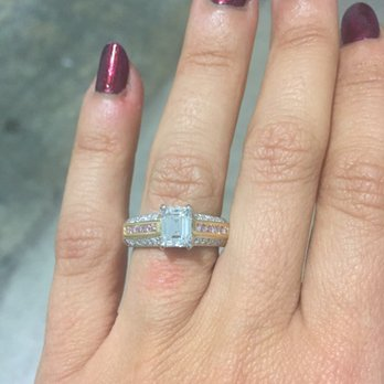 Photo Of Jasmin S Fine Jewelry Encino Ca United States Enement Ring Hand