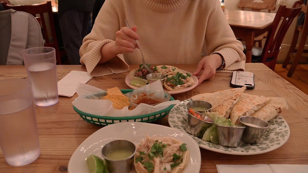 Food from Mexican Kitchen