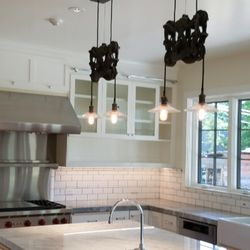 Photo Of Sconce Electric   Orangevale, CA, United States. Newly Remodeled  Kitchen With