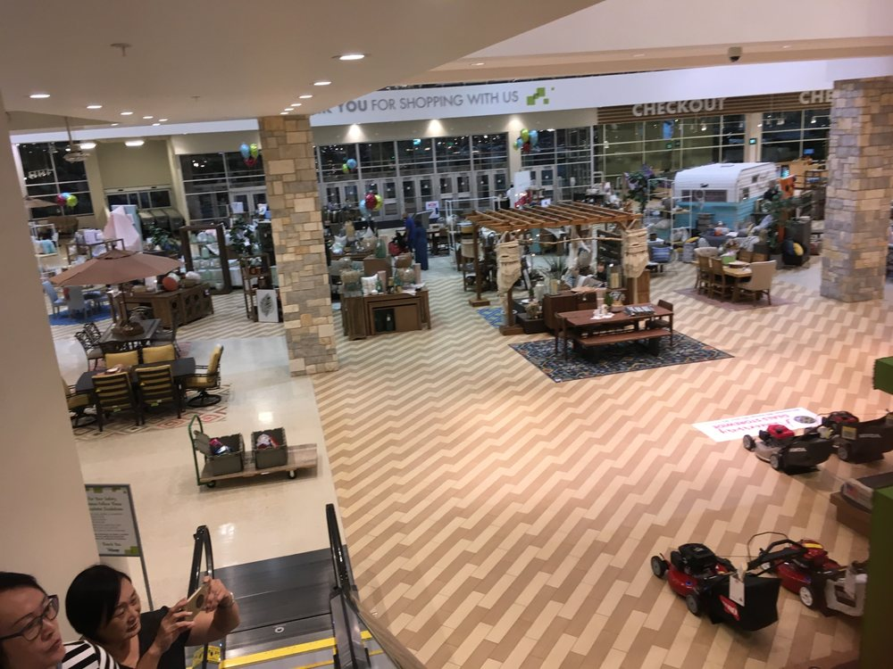 Inside nebraska furniture mart store front the colony for Nebraska furniture mart in texas