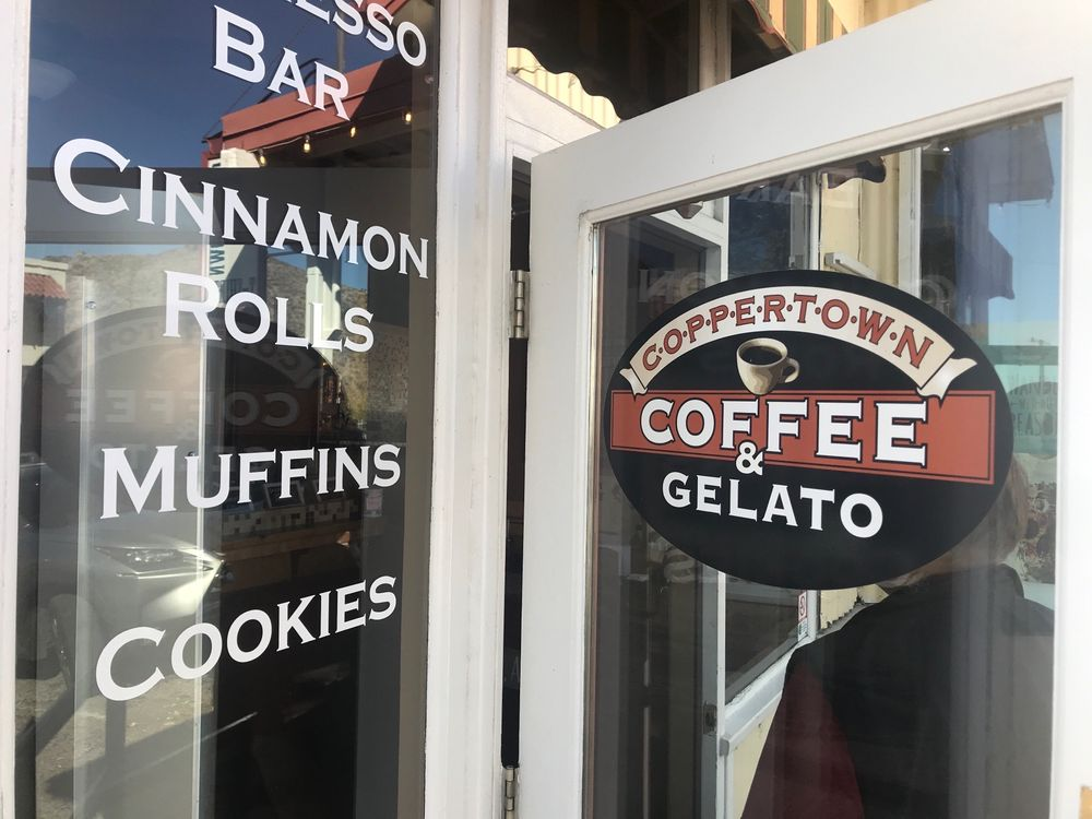 Coppertown Coffee: 111 Main St, Jerome, AZ