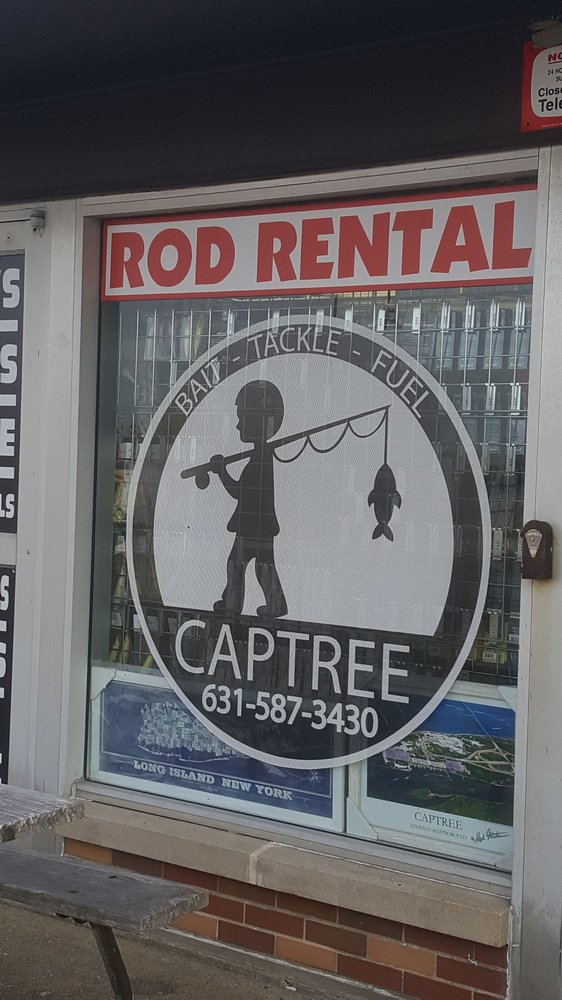 Captree Fuel, Bait and Tackle: 3500 E Ocean Pkwy, Babylon, NY