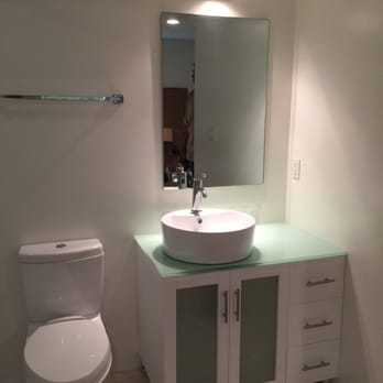 photo of derks plumbing los angeles ca united states bathroom vanity installed