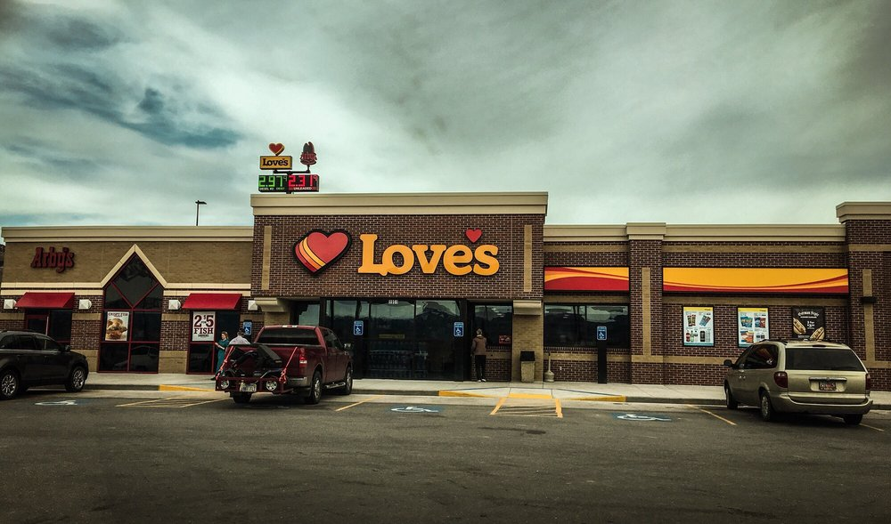 Love's Travel Stop: 1915 S State St, Salina, UT
