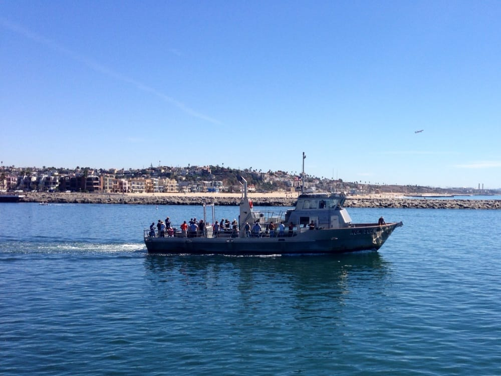 Heading out of the marina channel yelp for Marina del rey fishing report