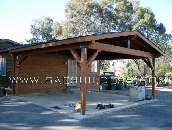 Wood Carport That Replaced Existing Structure Yelp