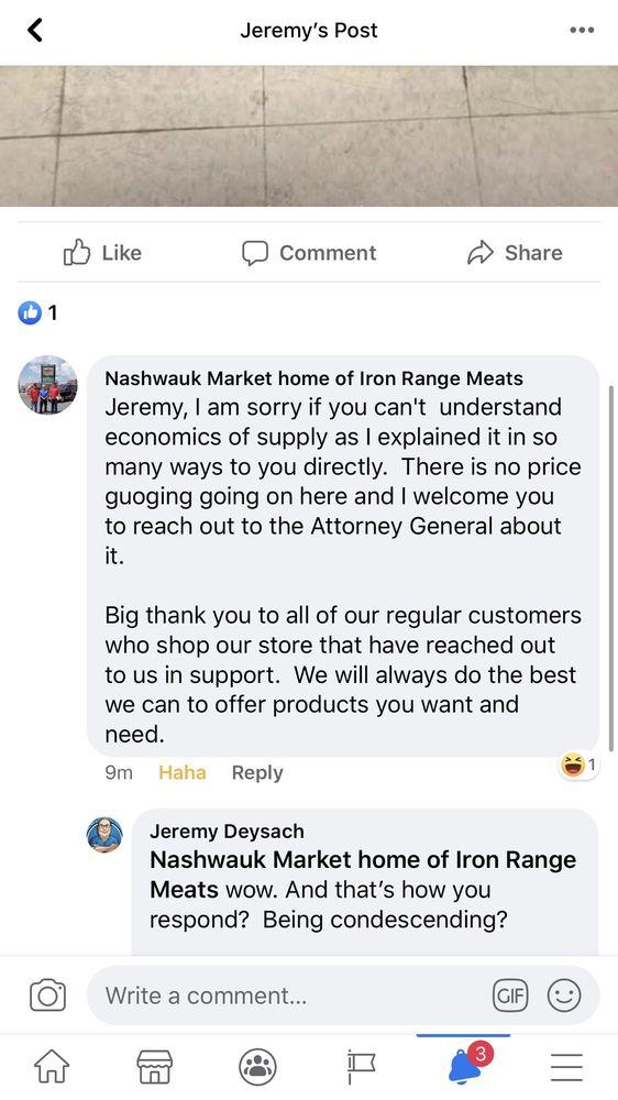 Nashwauk Market: 202 2nd St, Nashwauk, MN