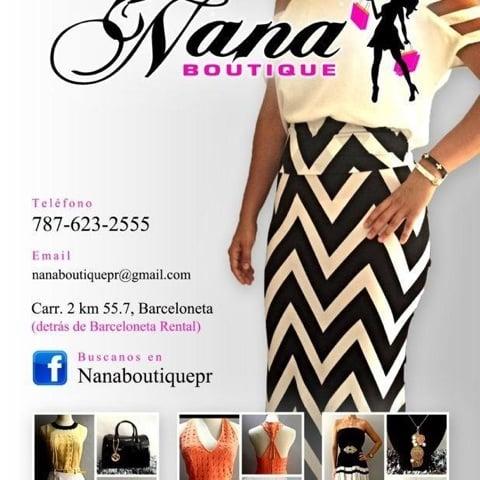 Nana Boutique: Calle Los Garcia, Barceloneta, PR