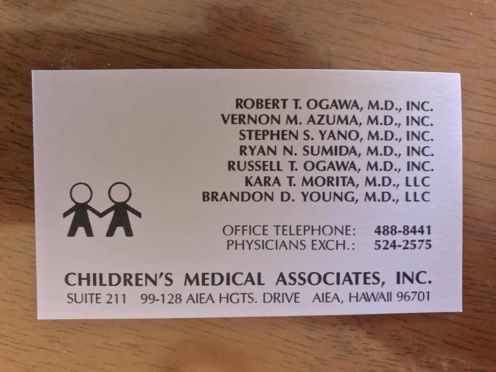 Yano S Stephen, MD: Children's Medical Associates, Aiea, HI