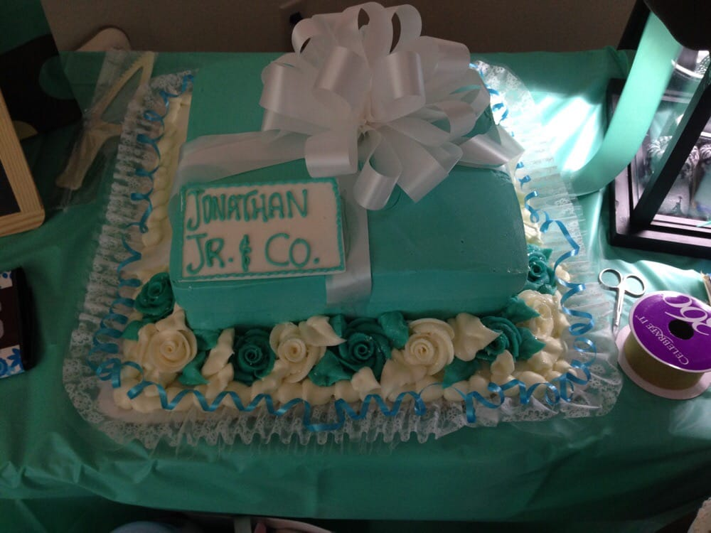 Baby Shower Cakes Honolulu ~ Tiffany blue baby shower cake ordered from hansens yelp