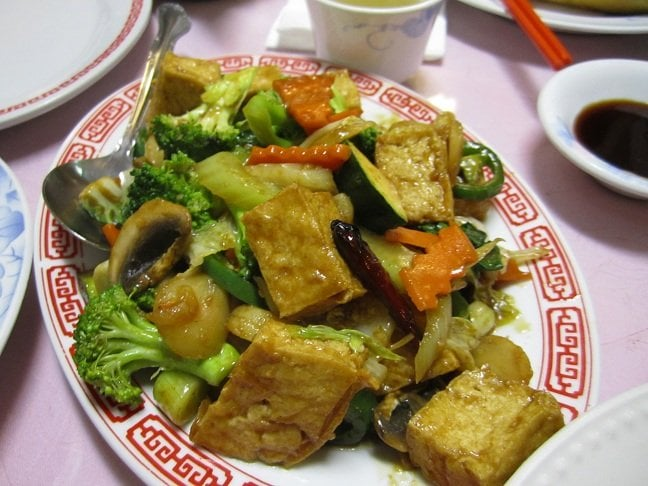 Fried Tofu With Veggies Yelp