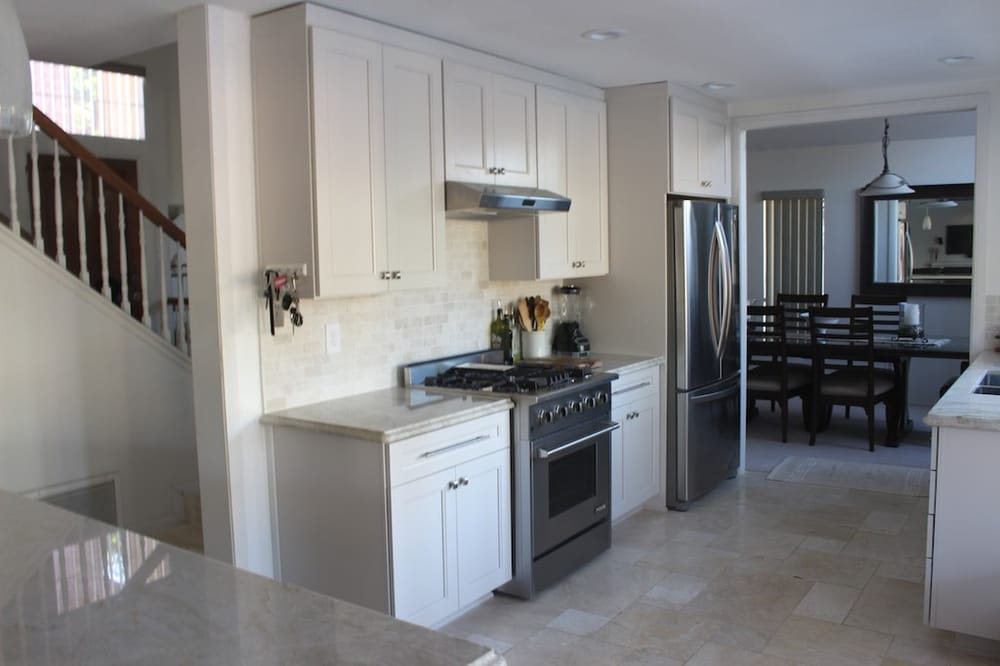 Kemper cabinets taj mahal quartzite top yelp - Kemper kitchen cabinets reviews ...