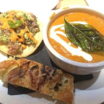 ... Manhattan Beach, CA, United States. tomato basil soup and tuna tartare
