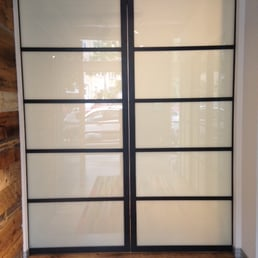 Photo Of The Sliding Door Company Boston Ma United States Laminated Suspended