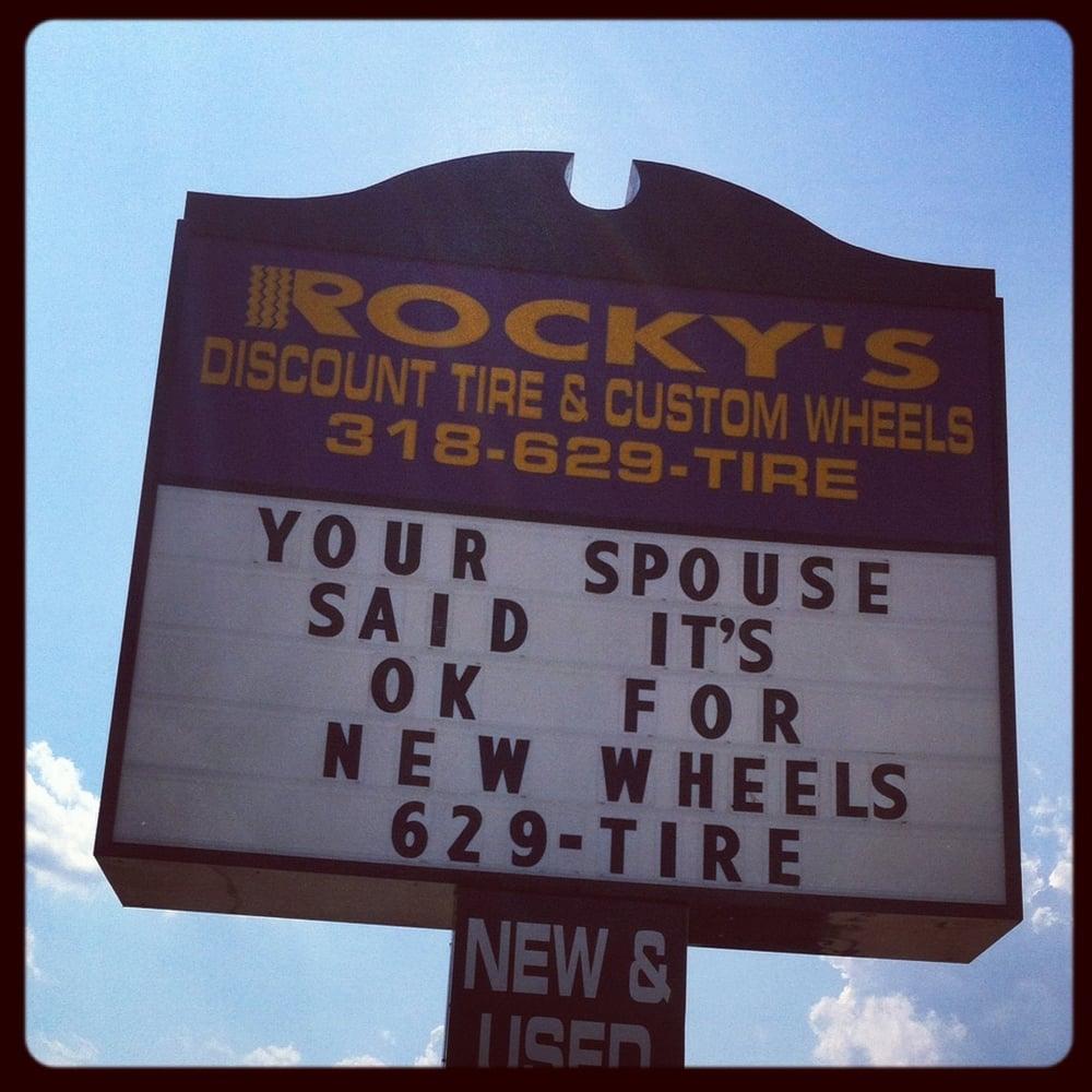 Rocky S Discount Tire Bossier City La