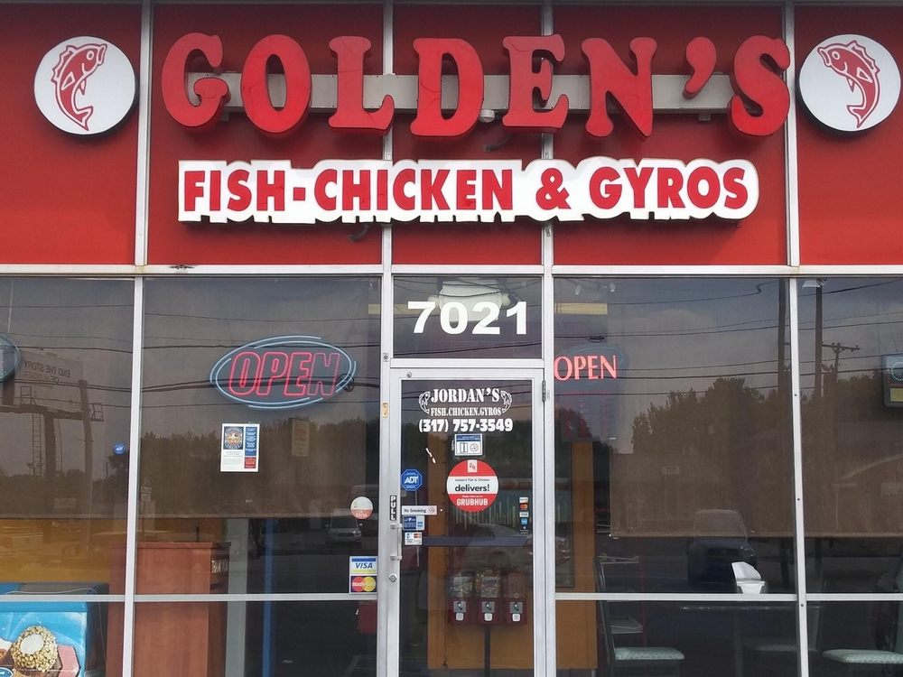 Super Golden's Fish & Chicken: 7021 Madison Ave, Southport, IN