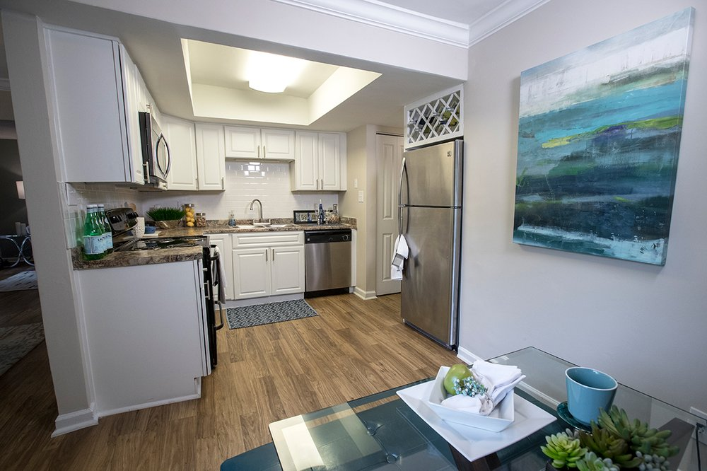 Updated Kitchens Include Stainless Steel Appliances And An ...