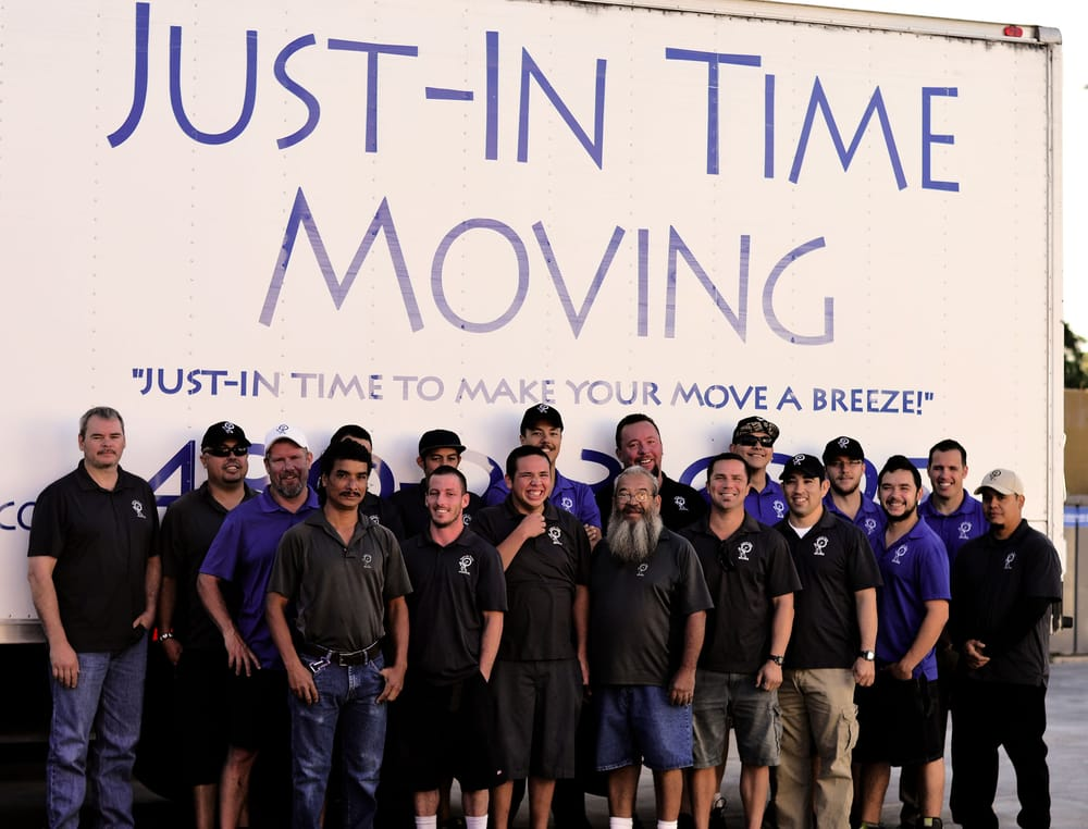 Just-In Time Moving and Delivery