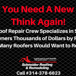 Photo Of Schneider Roofing U0026 Remodeling   St Charles, MO, United States