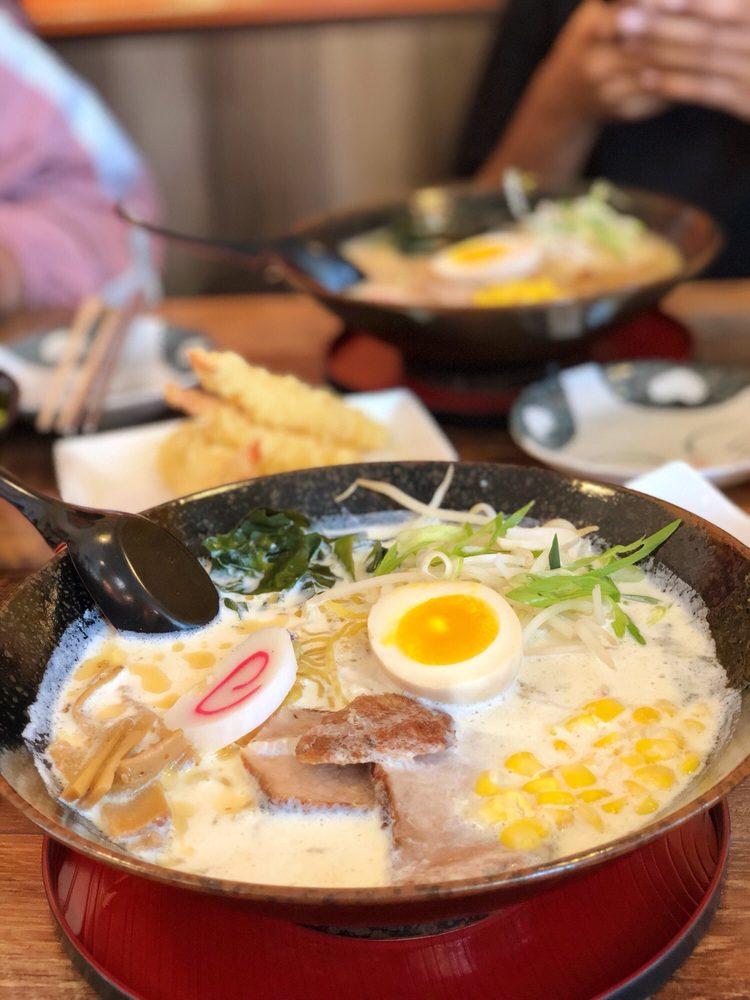 Food from Ichiban Ramen & Poki