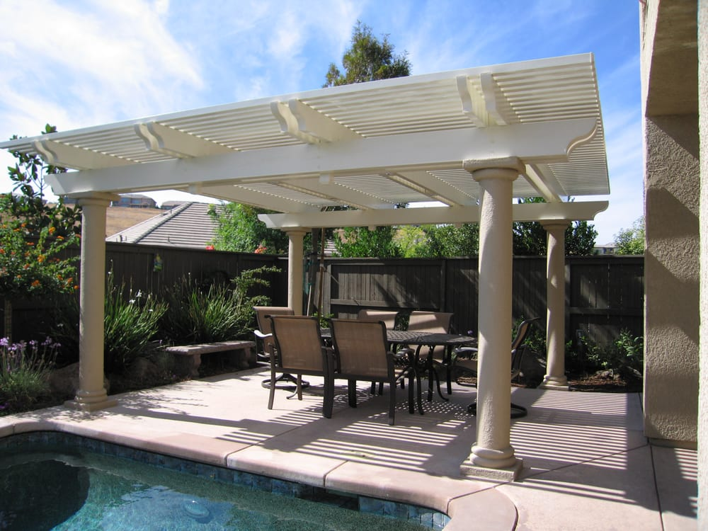 Photo Of Pacific Builders   Sacramento, CA, United States. A Freestanding  Lattice Patio
