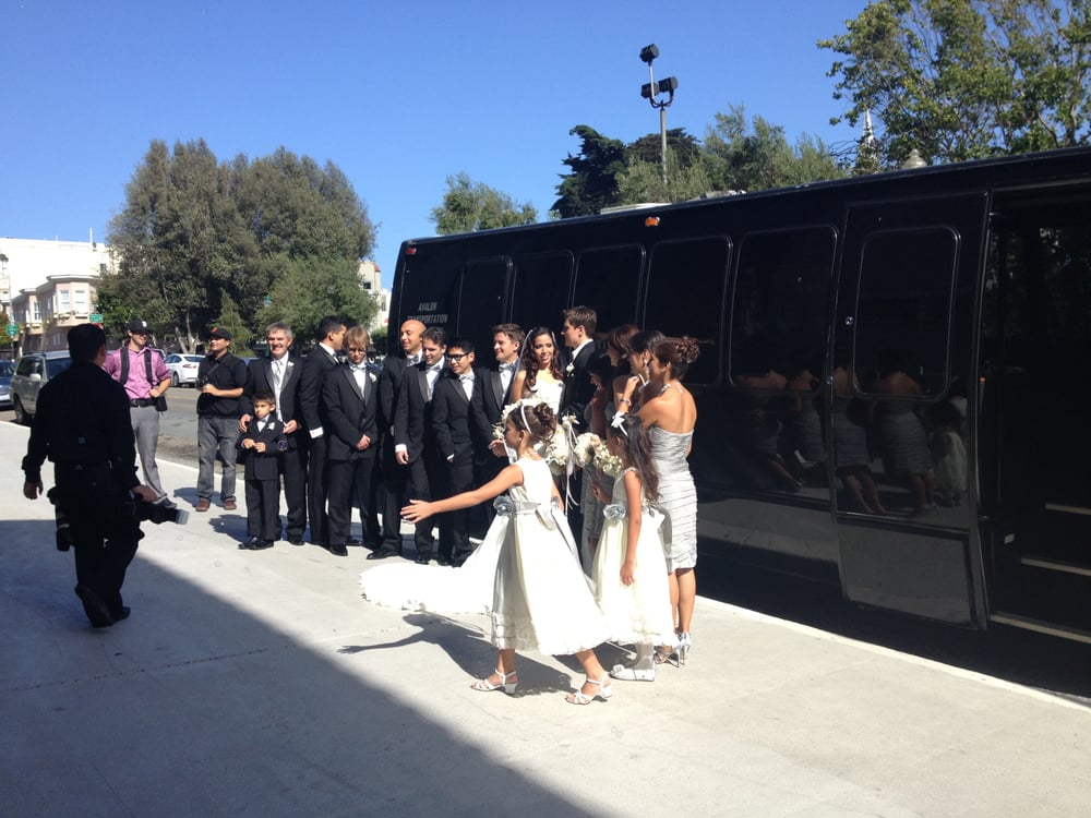 The Best San Francisco Wedding Party Bus & Limo Services (Also for Napa and Sonoma)