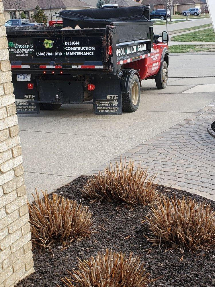 Dossin's Lawn & Landscape Service: 18575 32 Mile Rd, Armada, MI
