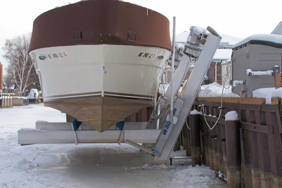 2-Pole Elevator Boat Lift - Yelp