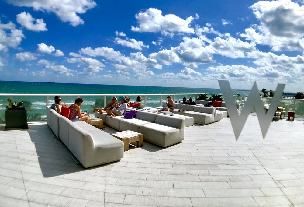 Living Room At The W 67 Photos 33 Reviews Lounges 401 N Fort Lauderdale Beach Blvd Fort