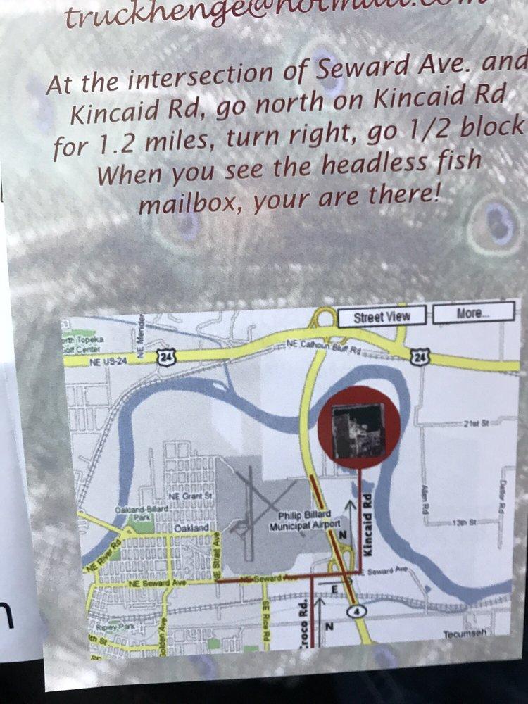 Truckhenge: 4124 NE Brier Rd, Topeka, KS