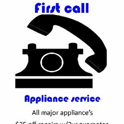 First Call Appliance Service Appliances Amp Repair