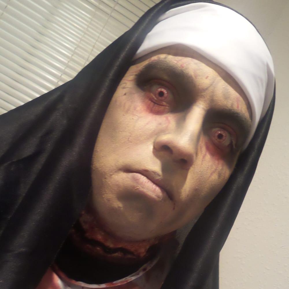 Possessed Nun Makeup By Kristi