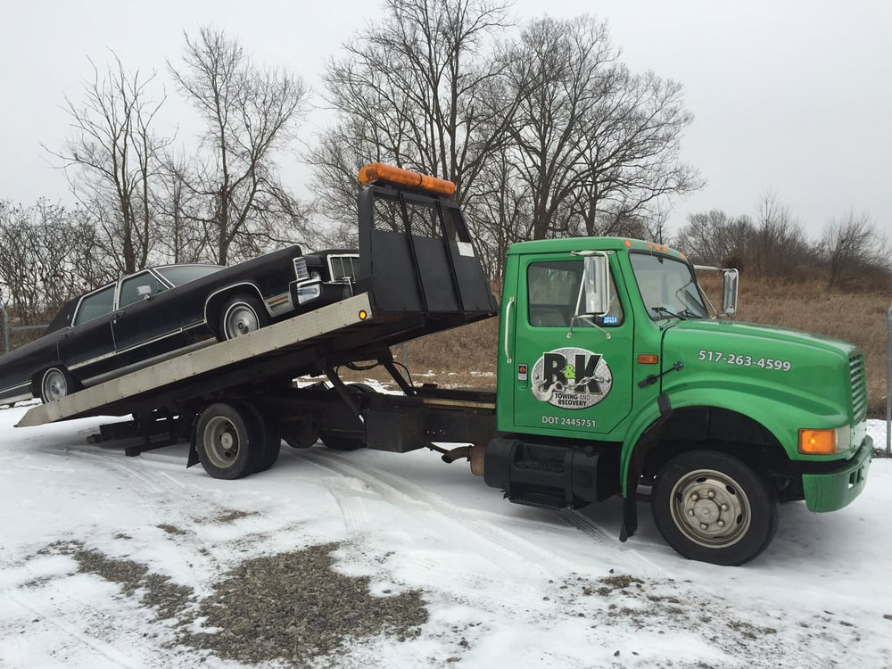 B & K Towing and Recovery: 239 W Maple Ave, Adrian, MI