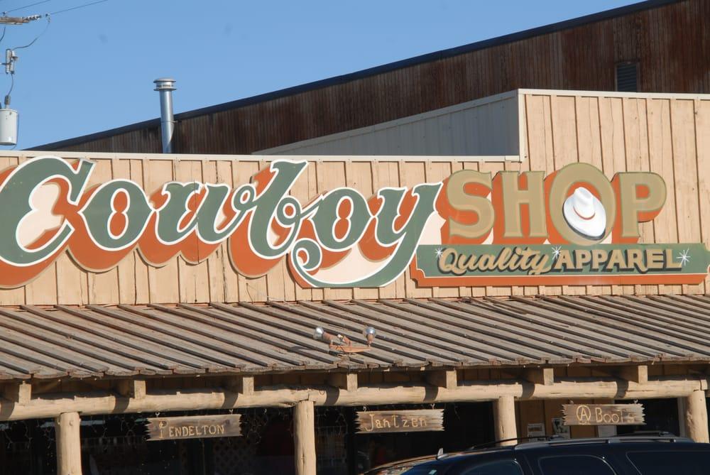 Cowboy Shop: 129 W Pine, Pinedale, WY