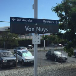 Image result for van nuys train