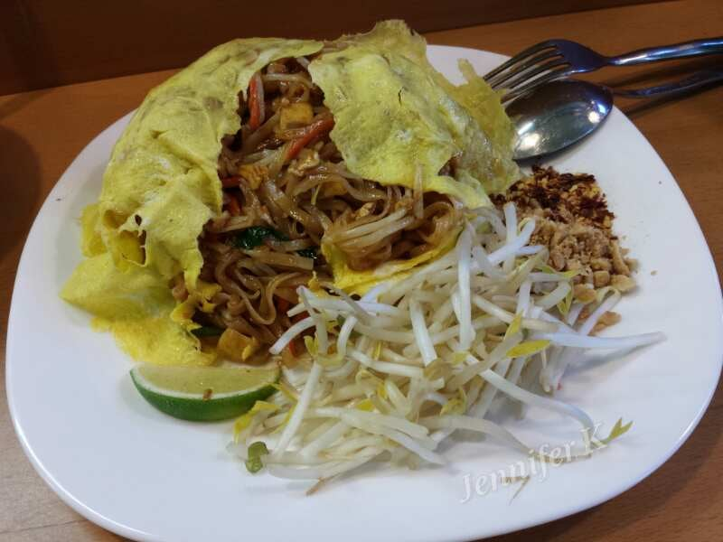 Pad Thai Omelette ($9.99) - Yelp