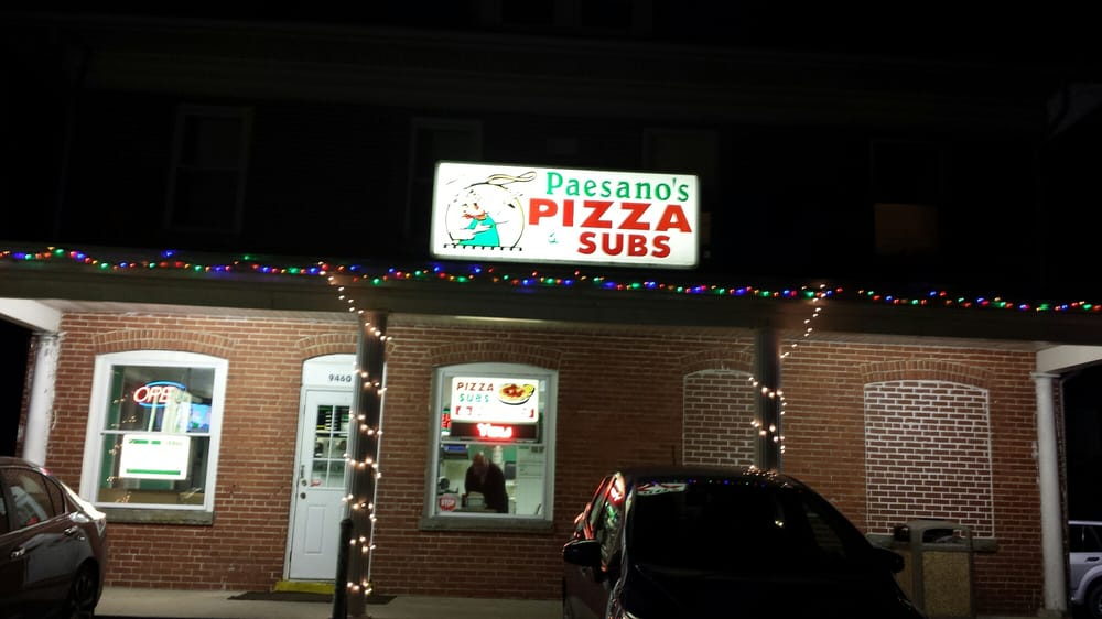 Paesano's Pizza: 9460 Williamsport Pike, Falling Waters, WV