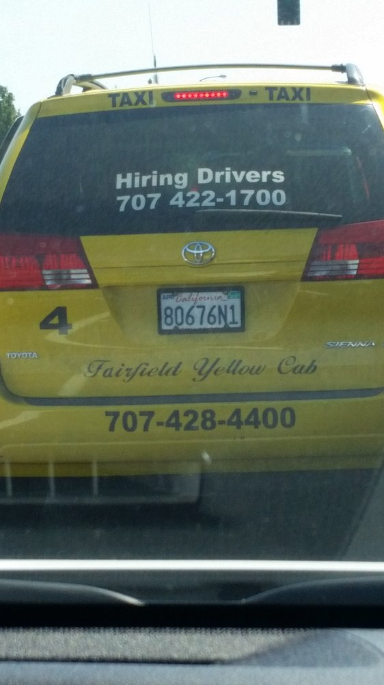 Fairfield Yellow Cab: 1101 Horizon Dr, Fairfield, CA
