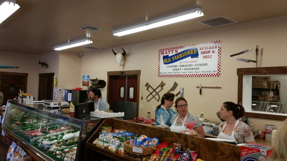 Matt's Old Fashioned Butcher Shop and Deli: 105 Rogers Ln, Livingston, MT