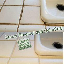 Clean Grout Northwest Photos Refinishing Services Poulsbo - Clean and reseal grout